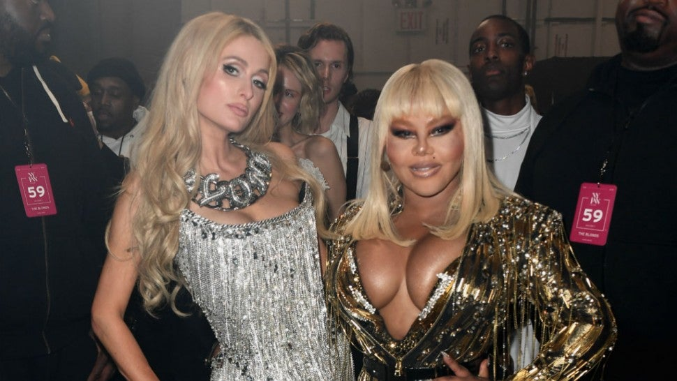 Paris Hilton and Lil Kim
