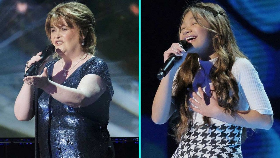 'AGT: Champions' Finals Showcases Powerhouse Female Vocalists -- From Susan Boyle to Angelica Hale