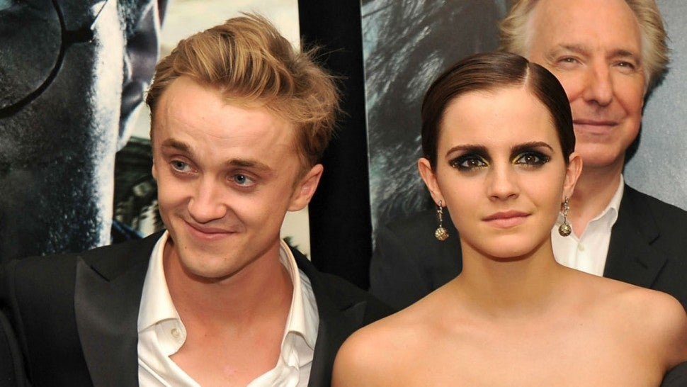 Emma Watson's 'Harry Potter' Co-Star Tom Felton Takes a Romantic Portrait of Her