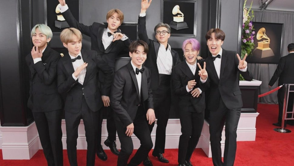 BTS' First-Ever GRAMMYs: The Highlights