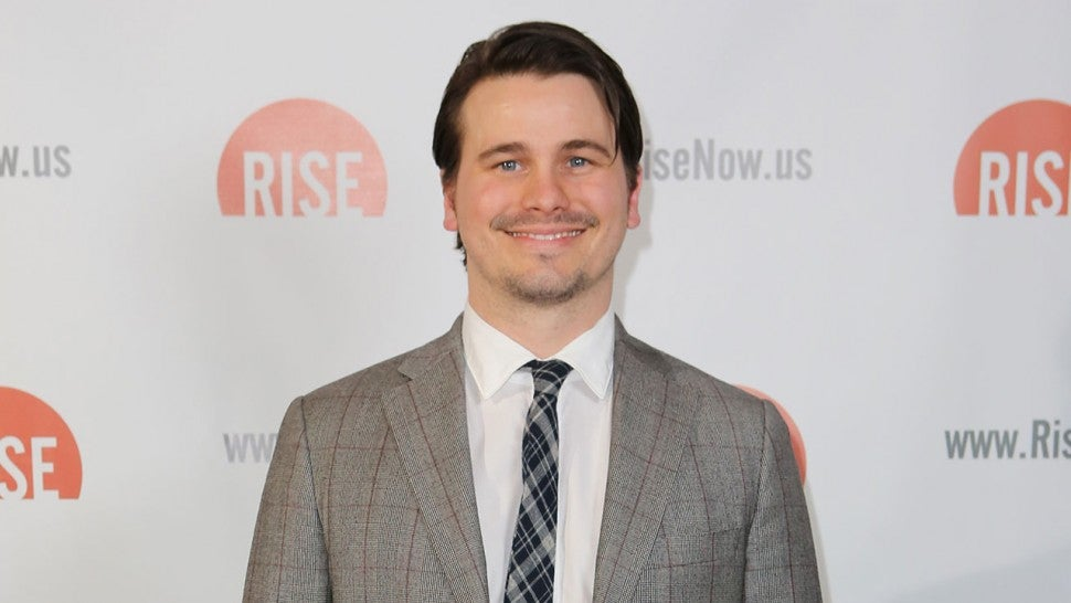 Jason Ritter at rise fundraiser