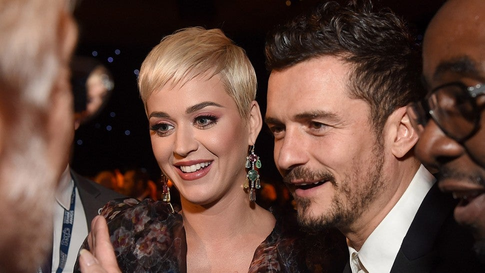 Katy Perry and Fiance Orlando Bloom Attend Kanye West's Sunday Service -- Pics!