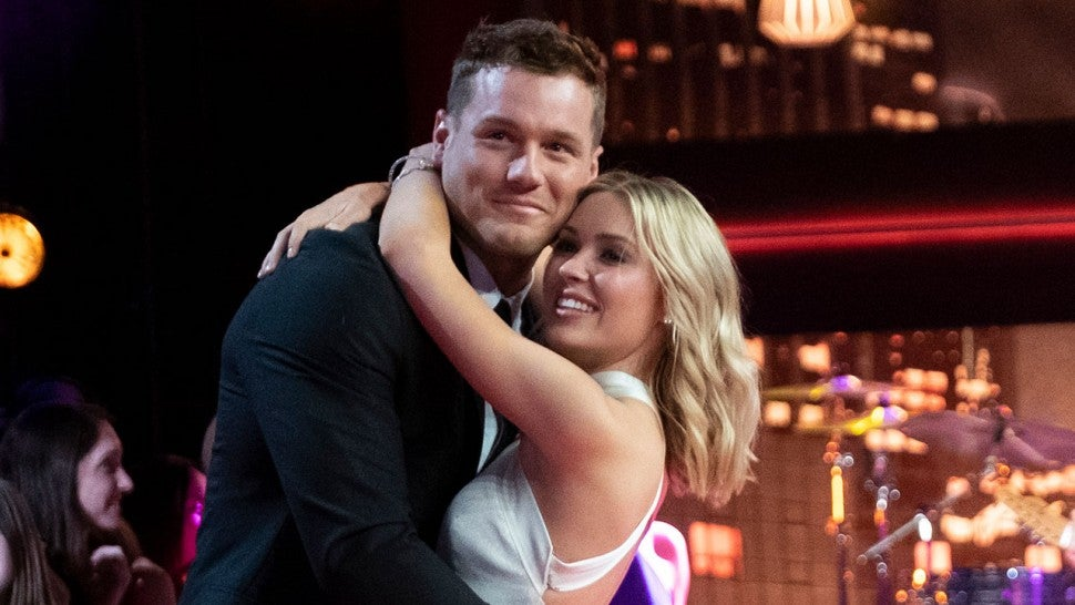 Colton Underwood spends the night with Cassie after reuniting on 'Bachelor' finale
