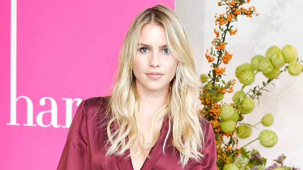 Claire Holt at Harper's BAZAAR September Issue party