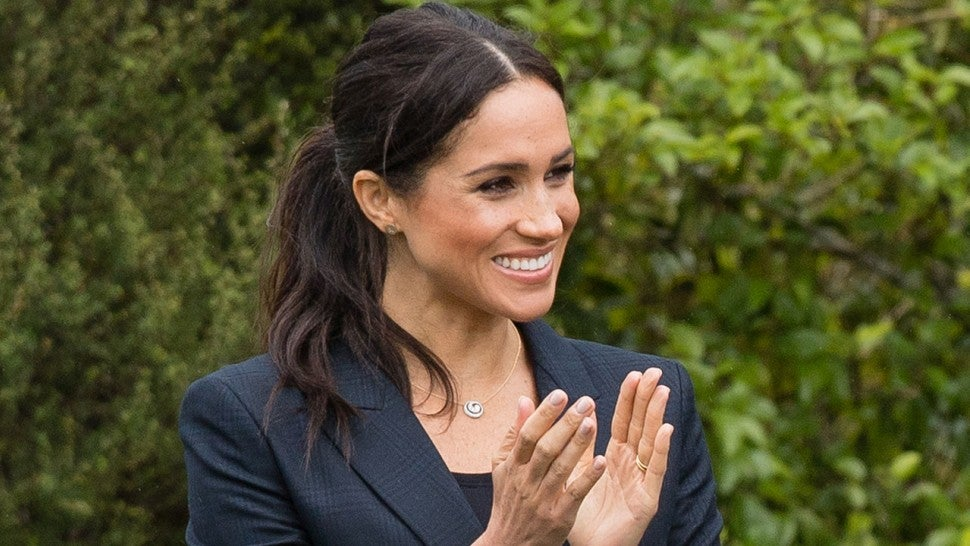 Meghan Markle Is Due 'Any Day,' Source Says, as Queen Elizabeth's Birthday Approaches
