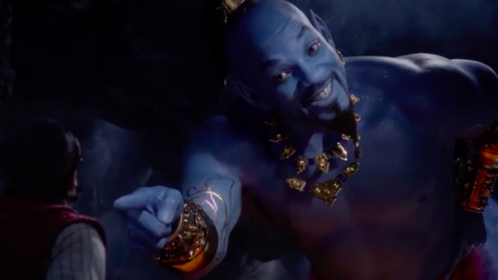 Will Smith in Aladdin trailer