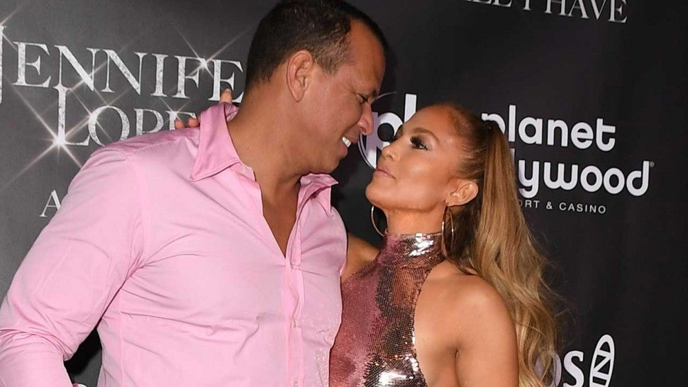 Alex Rodriguez Says Jennifer Lopez Convinced Him to Wear His Infamous All-Pink Outfit