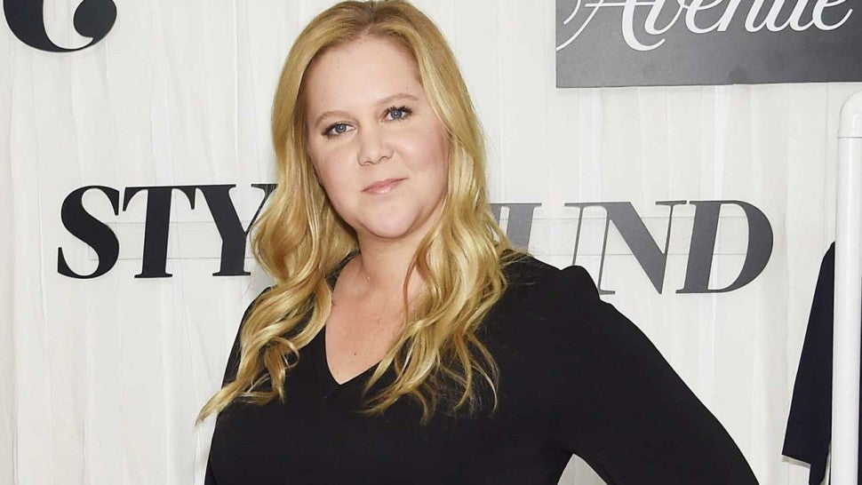 Amy Schumer Slams Rumors She's Given Birth: 'Still Pregnant and Puking'