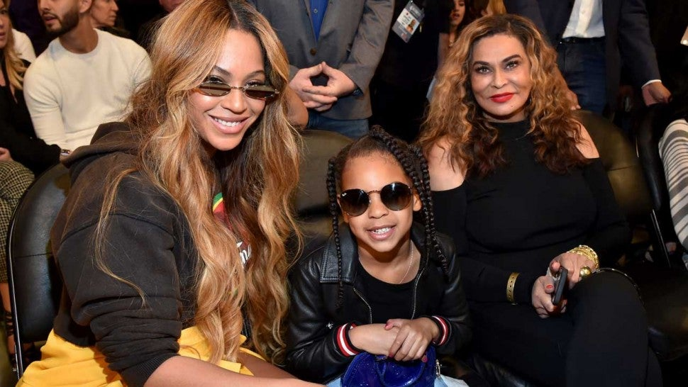 Blue Ivy Carter Joins Grandma Tina Lawson for an Adorable Corny Joke Video - Watch!