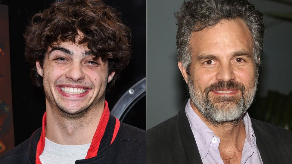 Noah Centineo and Mark Ruffalo