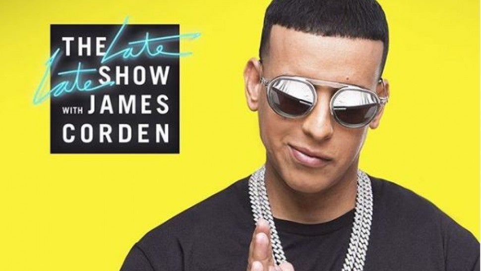Daddy Yankee Electrifies the 'Late Late Show' With 'Con Calma' Performance