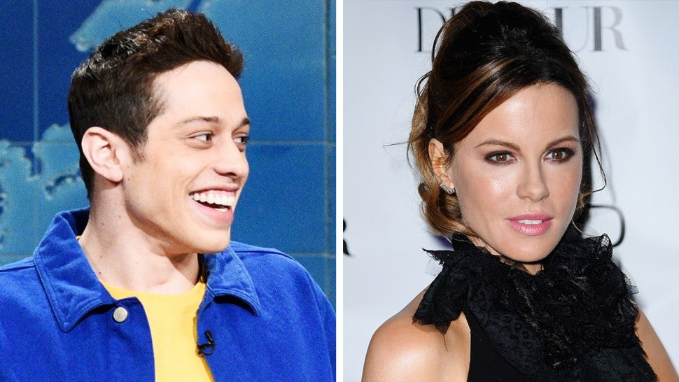 Kate Beckinsale and Pete Davidson Lock Lips After Attending 'Dirt' Premiere