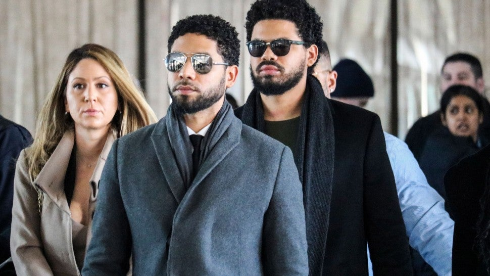 Actor Jussie Smollett makes brief court appearance