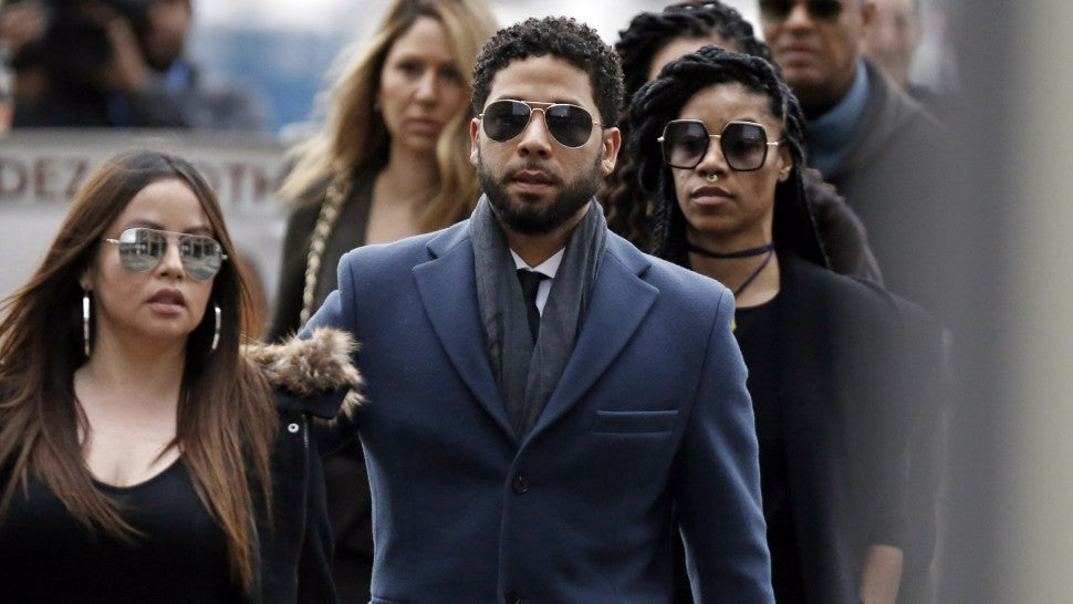 Jussie Smollett pleads not guilty to hate attack hoax charges