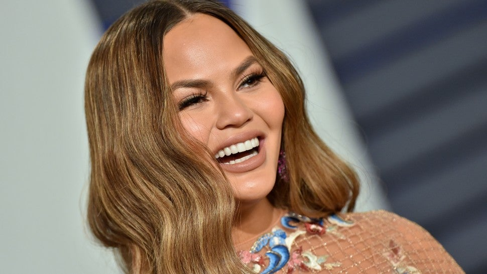 Chrissy Teigen Pokes Fun at College Bribery Scam by Photoshopping Her and John Legend