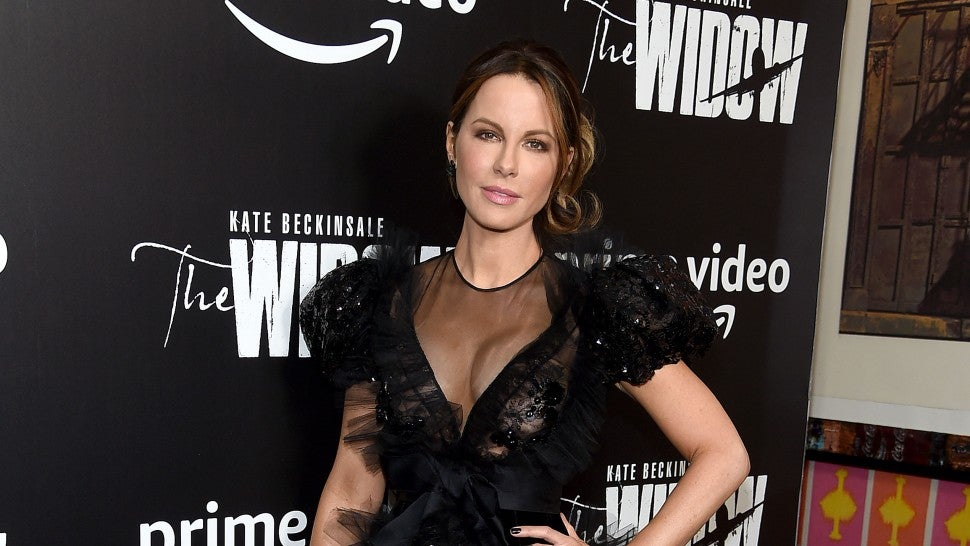 Kate Beckinsale at the widow premiere