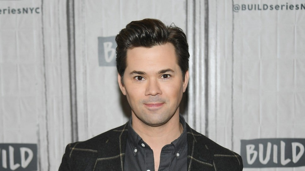 Andrew Rannells visits Build to discuss his new book 'Too Much Is Not Enough' at Build Studio on March 12, 2019 in New York City.