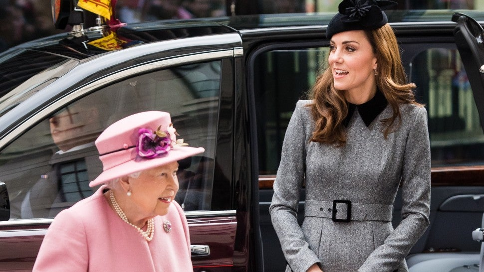 Kate Middleton and Queen Elizabeth Make First-Ever Solo Outing