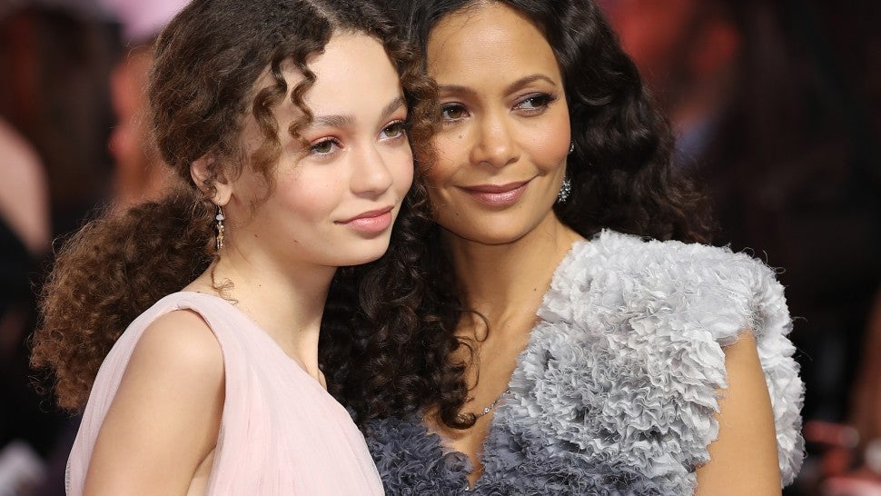 Thandie Newton and Her 14-Year-Old Daughter Nico Parker Look Nearly Identical at 'Dumbo' Premiere