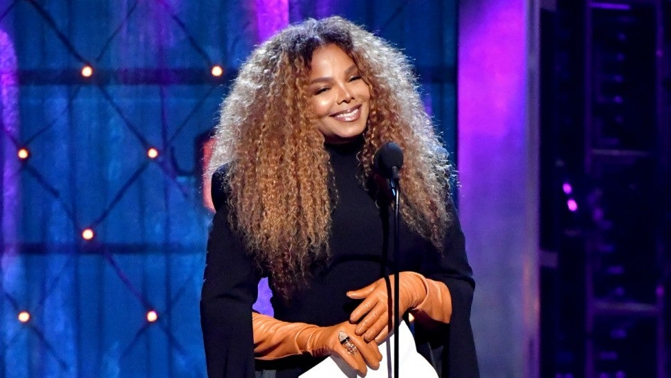 Janet Jackson Rock and Roll Hall of Fame