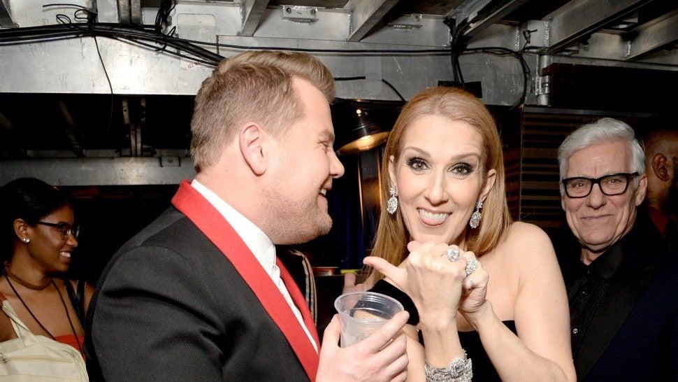 James Corden Teases Celine Dion 'Carpool Karaoke' -- See the Pic!