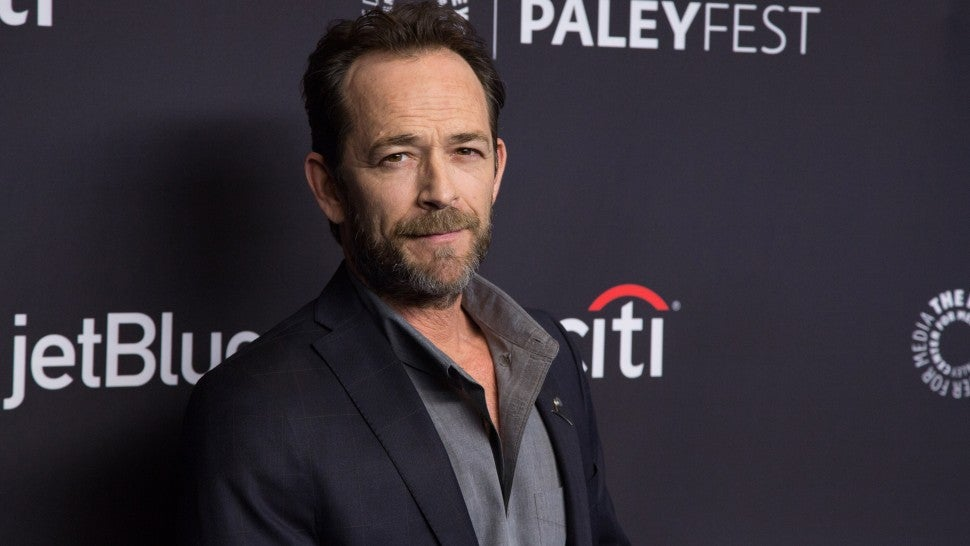 Luke Perry arrives for the 2018 PaleyFest Los Angeles - CW's 'Riverdale' at Dolby Theatre on March 25, 2018 in Hollywood, California.