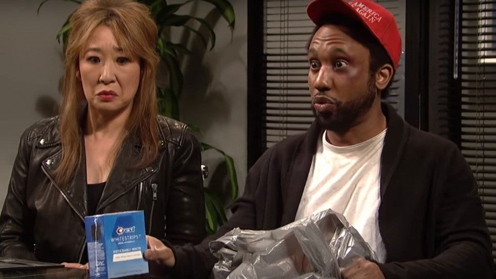 Chris Redd as Jussie Smollett on 'Saturday Night Live'