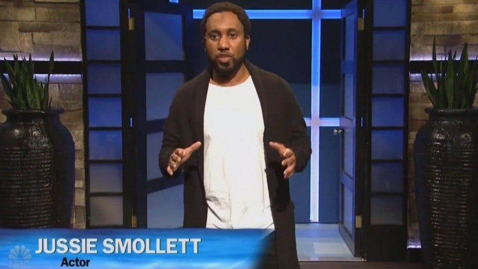 'Saturday Night Live' Mocks Jussie Smollett Scandal in Hilarious 'Shark Tank' Parody