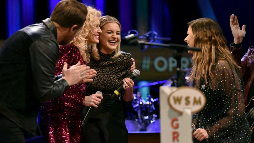 Kelsea Ballerini welcomed into the Grand Ole Opry by Little Big Town