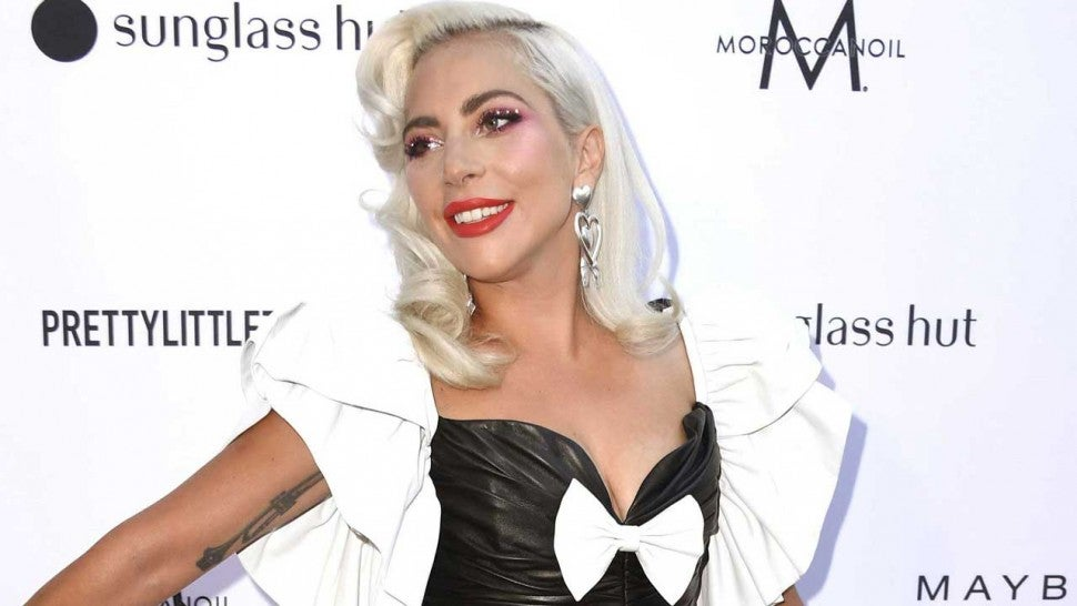 Lady Gaga at the Daily Front Row's 5th Annual Fashion Los Angeles Awards