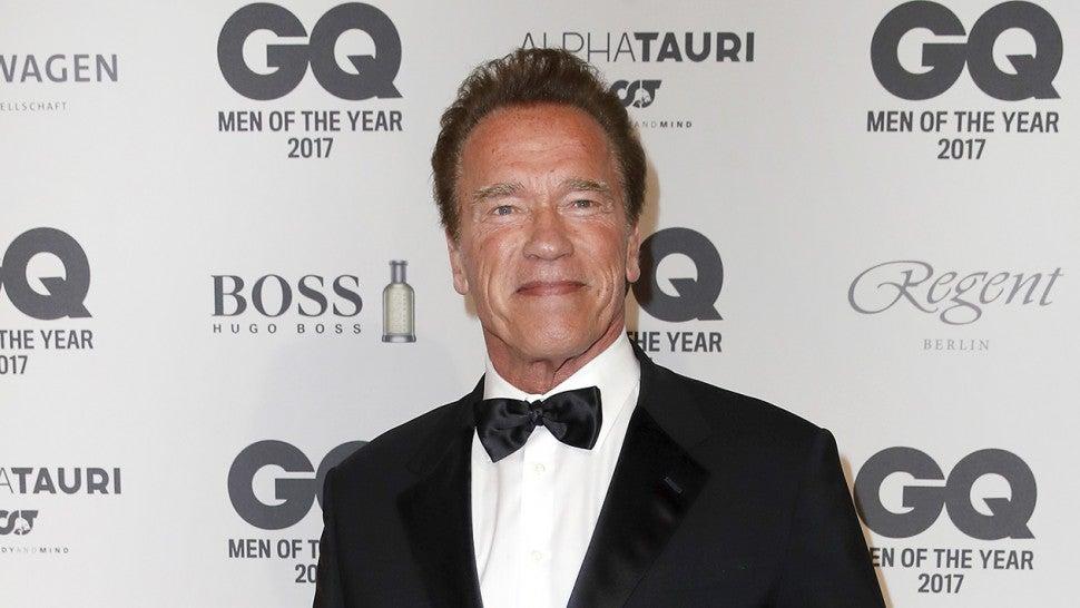 d96d1a4aa Arnold Schwarzenegger Proudly Celebrates Son Joseph Baena's College ...