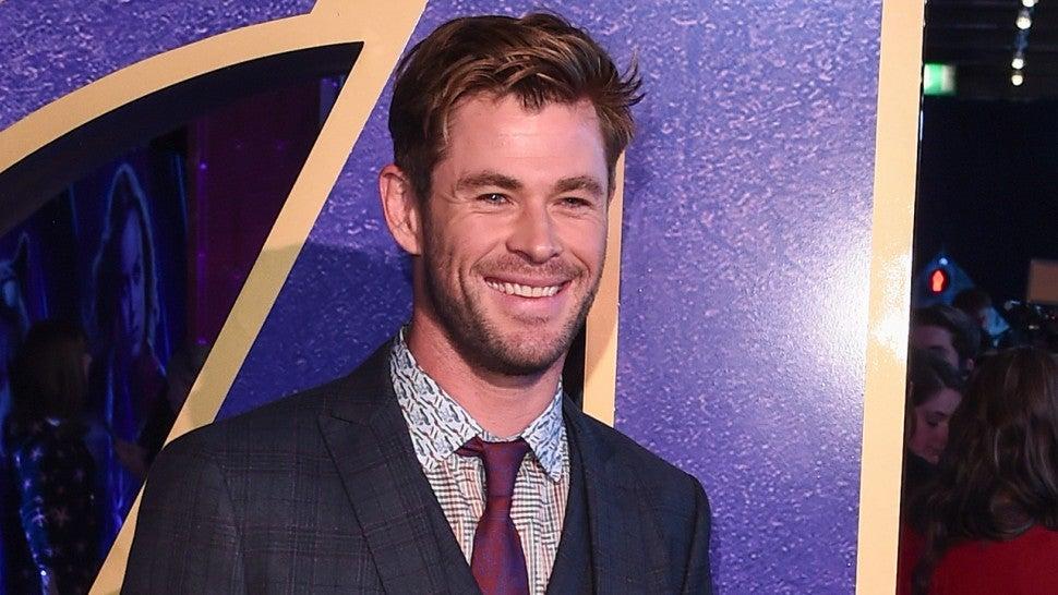 Chris Hemsworth Frantically Screams While Riding Disneyland Rollercoaster -- Watch!