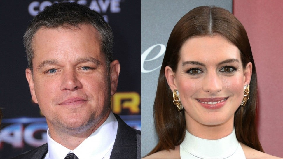 Here's How Matt Damon Convinced Anne Hathaway to Stray From Veganism