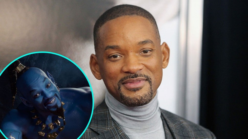 Will Smith Laughs Off Initial Backlash to His Genie in 'Aladdin': 'Everything Is Under Such Scrutiny'