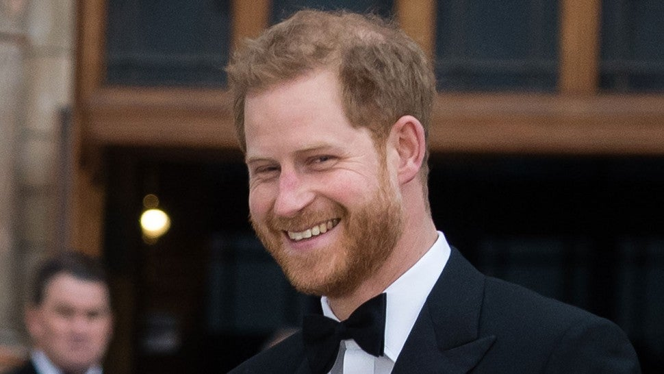 Prince Harry Just Confirmed Meghan Markle Is NOT In Labor Yet