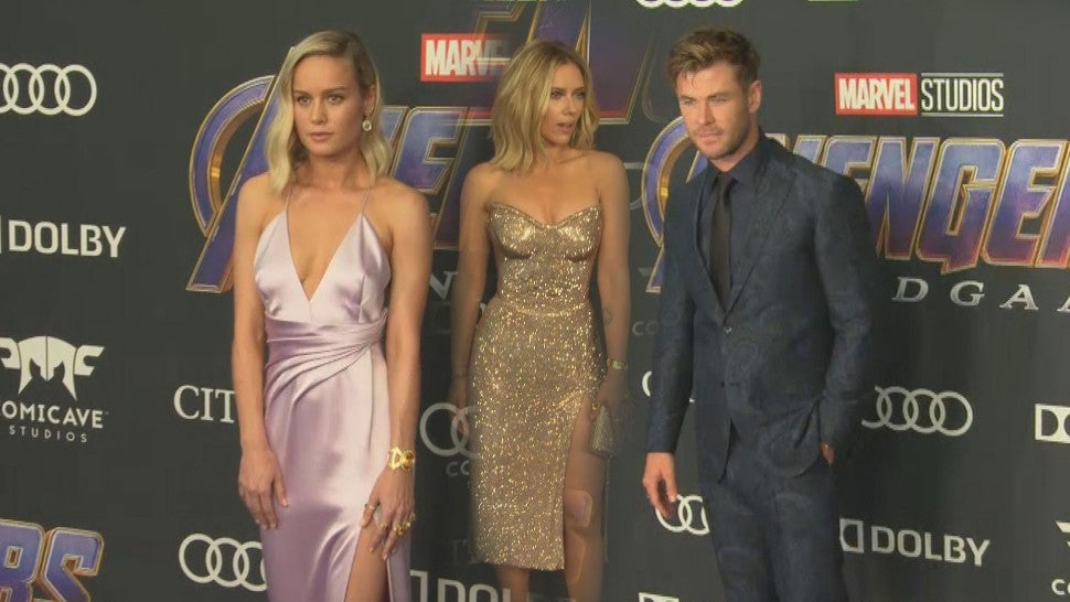 Scarlett Johansson, Miley Cyrus and More Slay 'Avengers: Endgame' Red Carpet