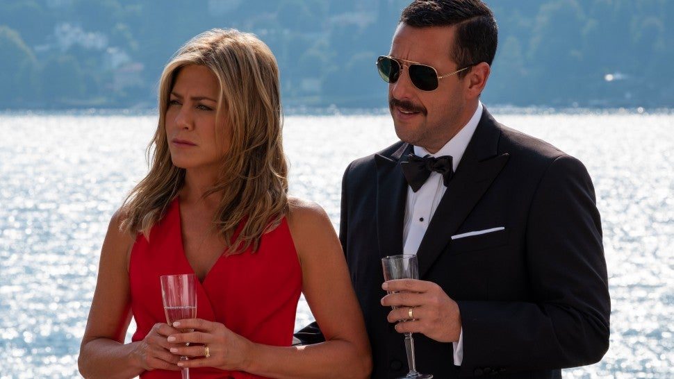 Jennifer Aniston and Adam Sandler Reunite in Netflix's 'Murder Mystery' -- See the Pics!