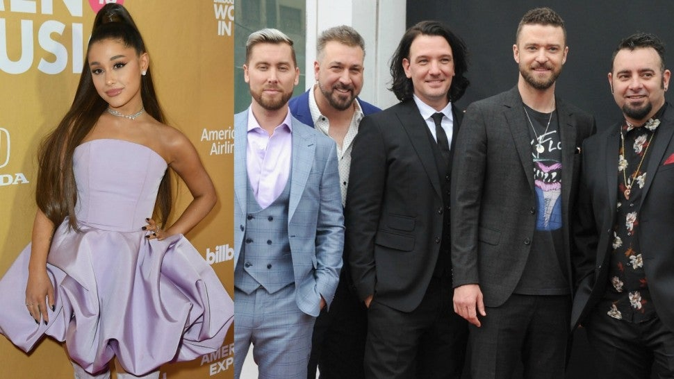 Image result for ariana grande and nsync