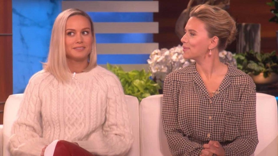 Brie Larson Hilariously Forgets How She and Scarlett Johansson First Met
