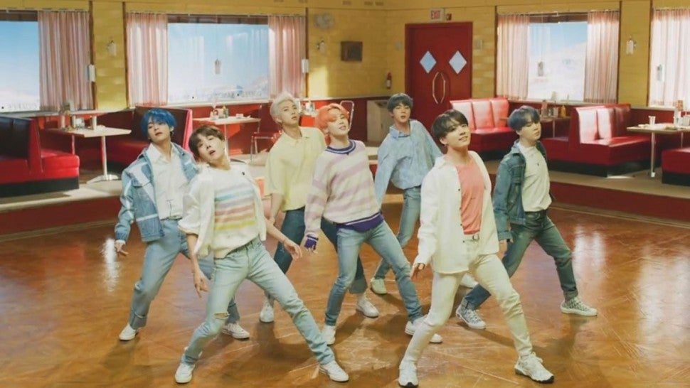 BTS beats own YouTube record with 'Boy with Luv' single