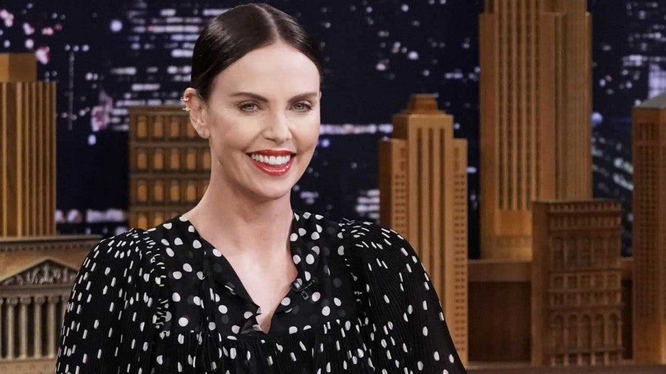 Charlize Theron on 'The Tonight Show' on April 30