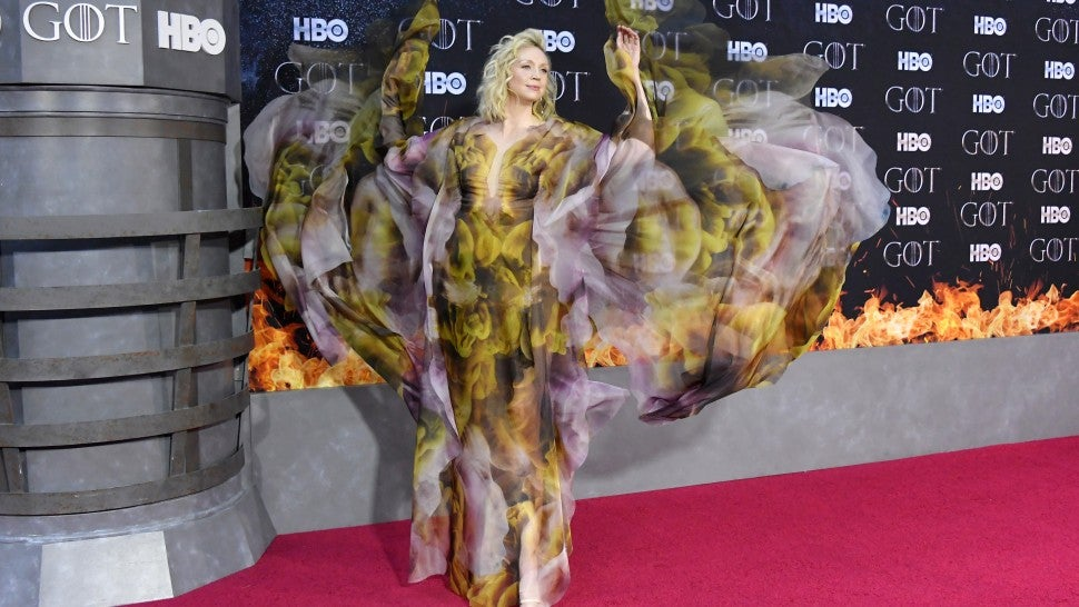 Gwendoline Christie Game Of Thrones Premieres