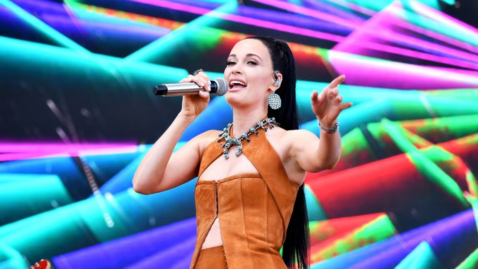 Kacey Musgraves Is a Couture Cowgirl in Full Tan Suede Look at Coachella Weekend 2