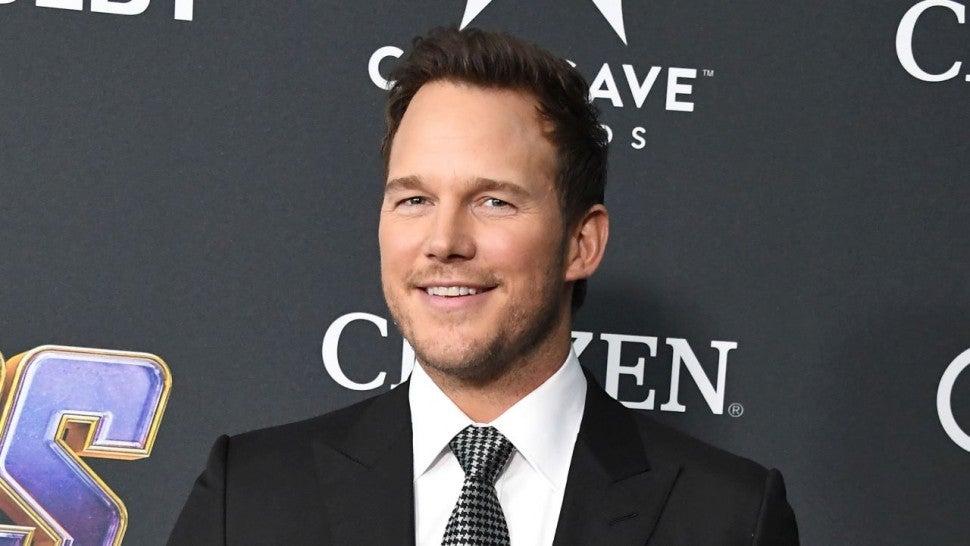 Chris Pratt Shares 'Really Illegal' Video He Took While on 'Avengers: Endgame' Set