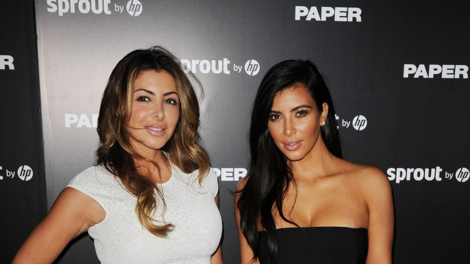 Larsa Pippen and Kim Kardashian attend Paper Magazine, Sprout By HP & DKNY Break The Internet Issue Release at 1111 Lincoln Road on December 4, 2014 in Miami, Florida.