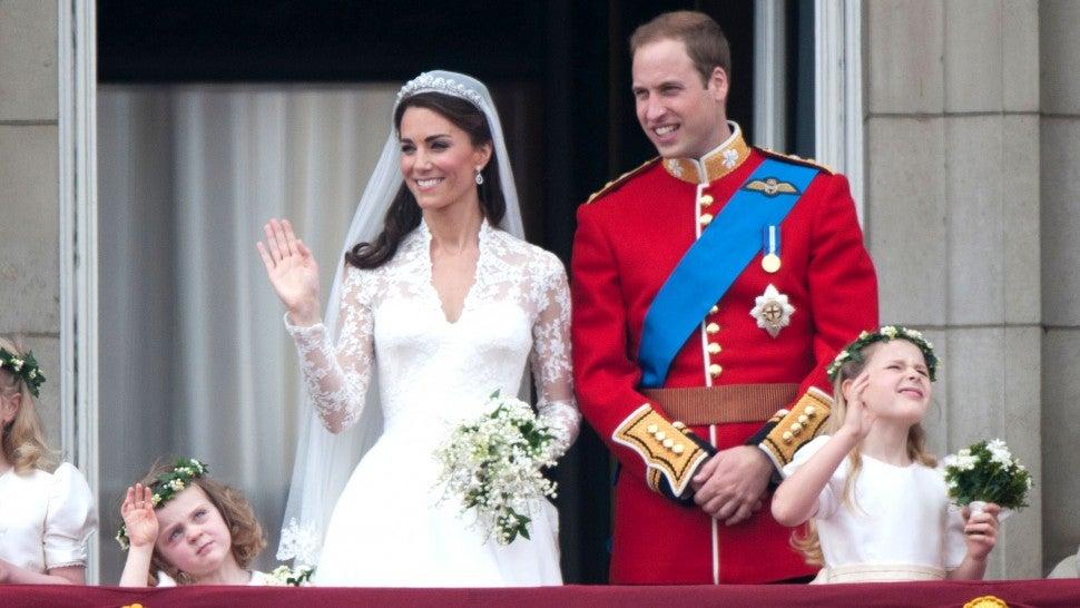 Prince William Wedding.Prince William And Kate Middleton Celebrate 8th Wedding