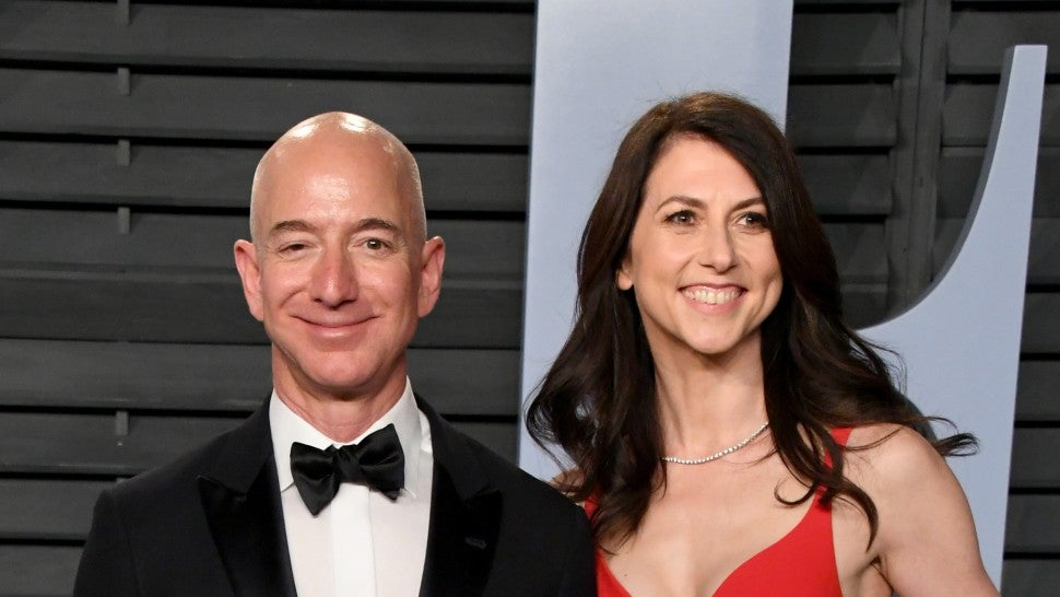 Jeff Bezos Will Keep 75 Percent of His and Wife's Amazon Shares