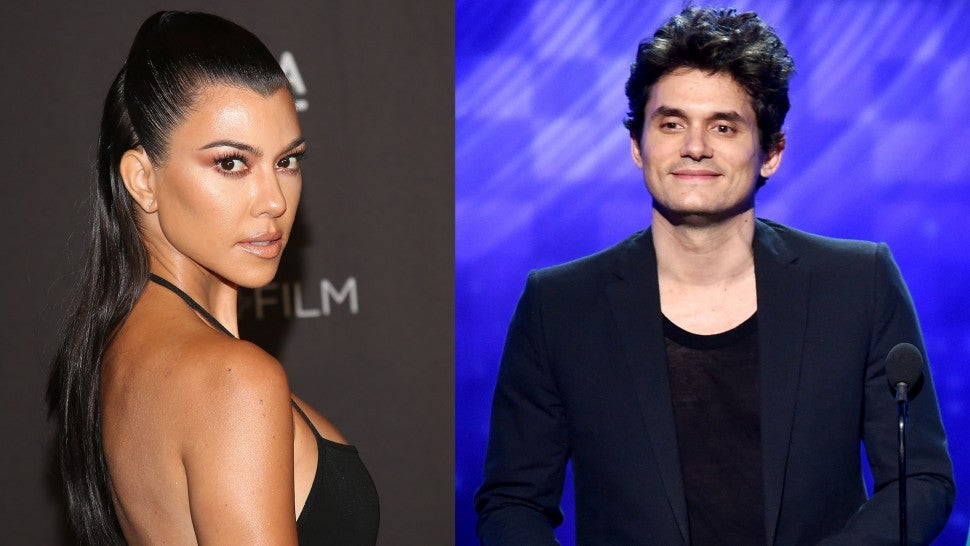 John Mayer Kourtney Kardashian