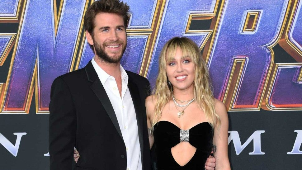 Miley Cyrus and Liam Hemsworth Shine on 'Avengers: Endgame' Red Carpet