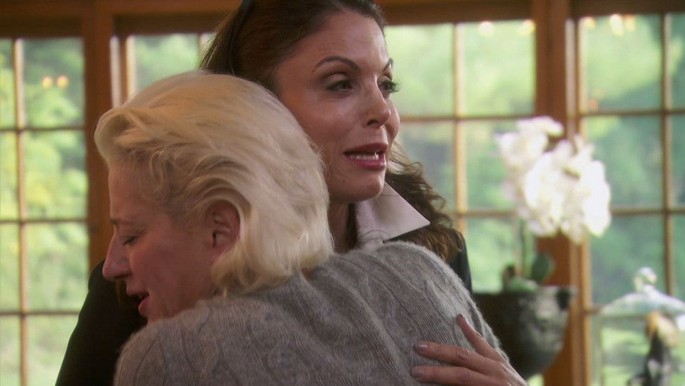 Dorinda Medley embraces an emotional Bethenny Frankel on 'The Real Housewives of New York City.'
